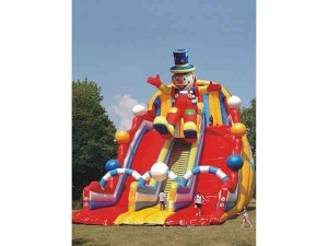dmuchaniec zjeżdzalnia klaun gigant